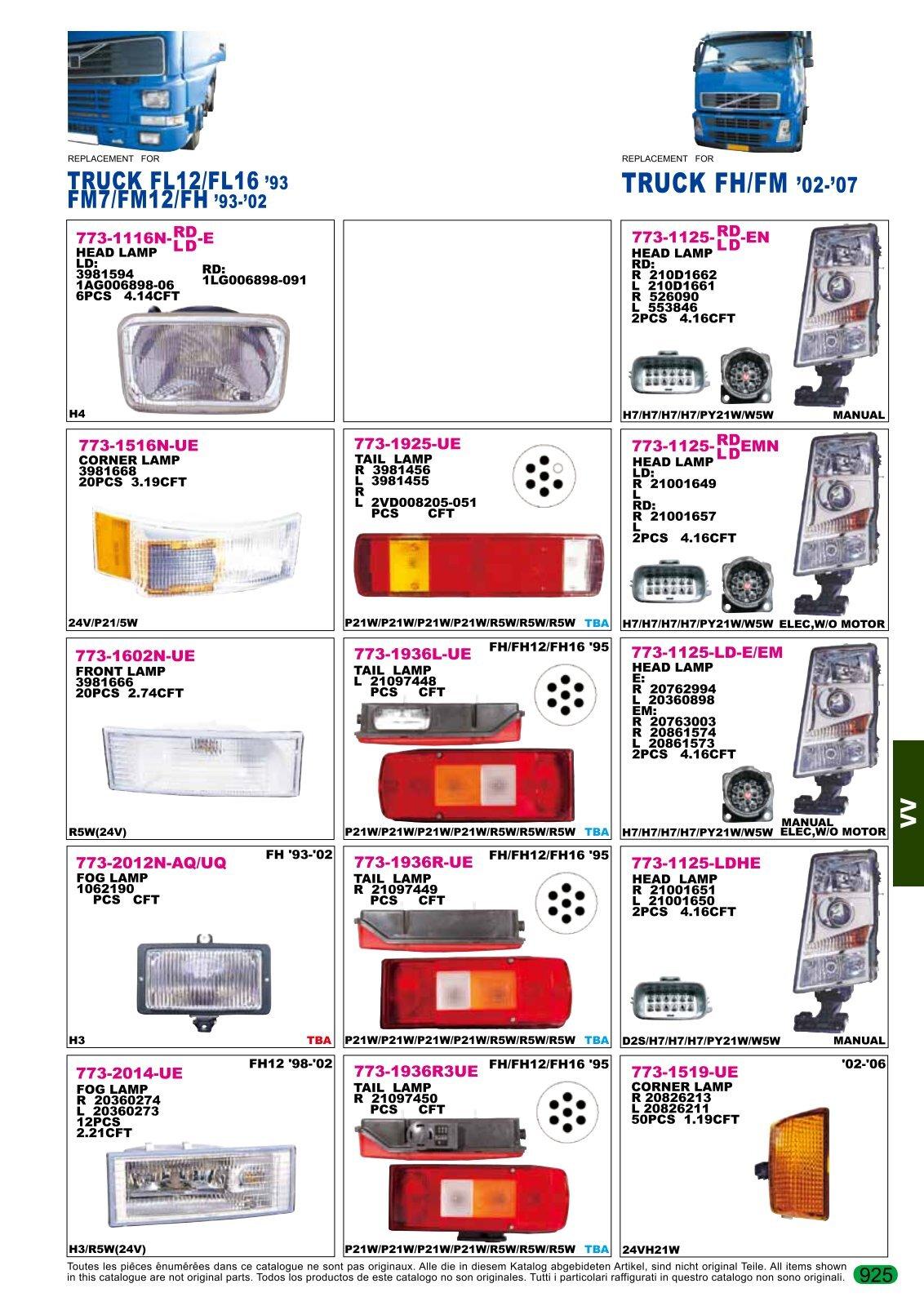 TRUCK FH/FM '02-'07 - AutoBodyParts.gr
