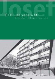 Jahresbericht - St. Josef-Stiftung