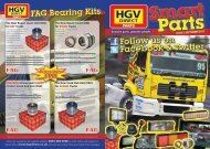 FAG Bearing Kits Follow us on Facebook & Twitter ... - HGV Direct
