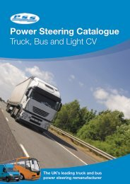 Power Steering Catalogue - PSS