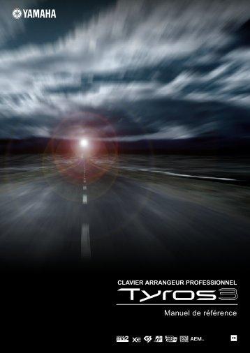 Tyros3 Reference Manual - Yamaha
