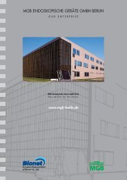 MGB Endoskopische Geräte GmbH Berlin