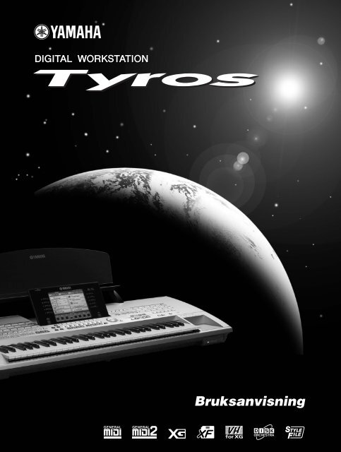 TYROS Svensk bruksanvisning - Yamaha