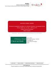 Redalyc.Síndrome de adaptación paradójica a la violencia doméstica