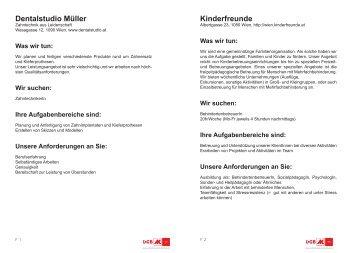 Stellenausschreibungen - Arbeiterkammer Wien