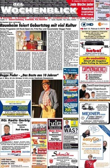 Page 1 Lokales 'ttereinsnachrichten Geschäftsmitteiiungen Lokales ...