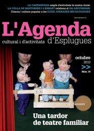 octubre (L'Agenda Cultural i d'Activitats) - Correu per a tothom