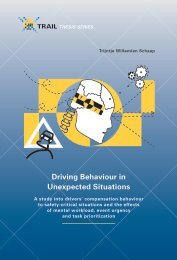 Driving Behaviour in Unexpected Situations - Universiteit Twente