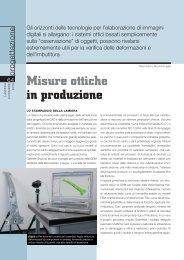 Misure ottiche in produzione - Microsystem