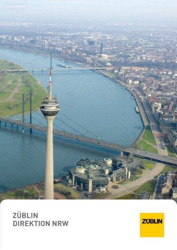 Broschüre Direktion NRW - Strabag AG