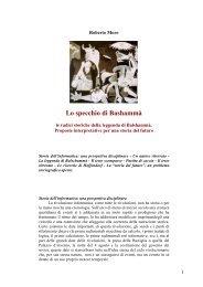 Lo specchio di Balshammà - Storia & Storici