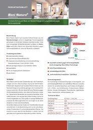 Bioni Nature® - bau docu Österreich