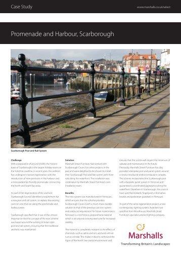 Promenade and Harbour, Scarborough - Marshalls