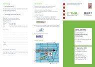 Flyer und Anmeldung - Technische Hochschule Mittelhessen
