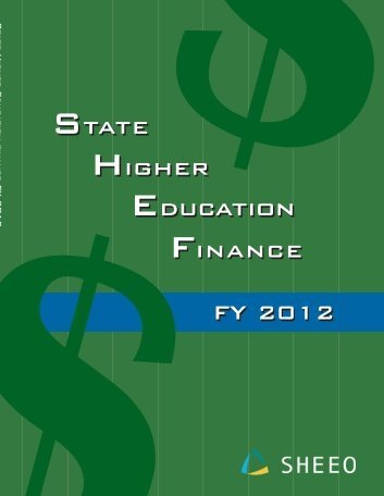State Higher Education Finance