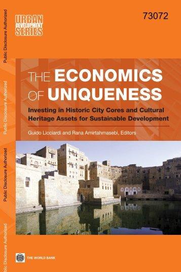 ECONOMICS UNIQUENESS