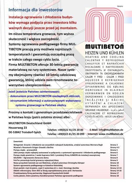 MBN03de FDE D pl Dystrybucja: caÃ…Â'a Europa, cena za ... - Multibeton