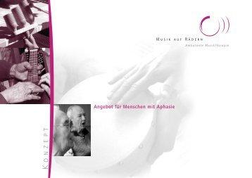 Musiktherapie bei Aphasie - Musik auf Rädern