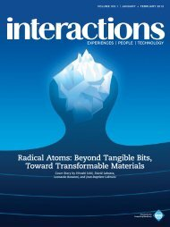 Radical Atoms: Beyond Tangible Bits, Toward Transformable Materials