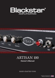 artisan 100 handbook 07-12-07:Layout 1.qxd - Sam Ash