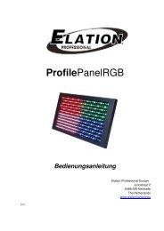 ProfilePanelRGB - Musik Produktiv