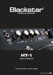 ht-1 handbook 03-08-10:Layout 1.qxd - Sam Ash