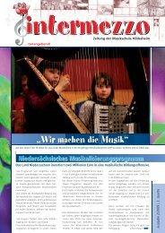 Wir machen die Musik - in der Musikschule  Hildesheim