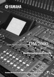 DM2000 V2_G Bedienungsanleitung - Musik Produktiv
