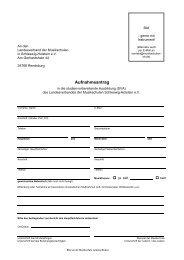 Aufnahmeantrag - Landesverband der Musikschulen in Schleswig ...