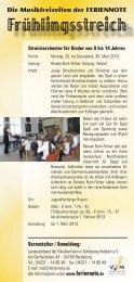 Frühlingsstreich - Landesverband der Musikschulen in Schleswig ...