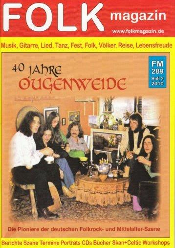 40 Jahre Ougenweide - Musiktheater Dingo