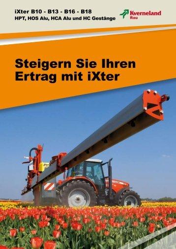 Steigern Sie Ihren Ertrag mit iXter