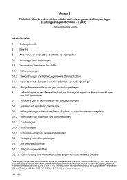 Richtlinie über brandschutztechnische Anforderungen an ...