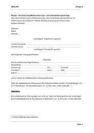 StBauFR Anlage 2 Seite 1 Muster - Vereinbarung (Moderni