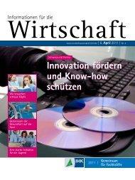 IHK-Magazin Information für die Wirtschaft 04/2011