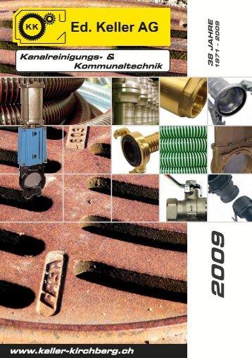 Kanalreinigungs- & Komunaltechnik - Ed. Keller AG, Kirchberg