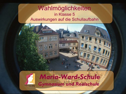 maria ward schule landau