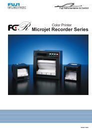 MicroJet Series - MW Regeltechnik