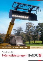 Werkzeuge Teleskoplader - MX