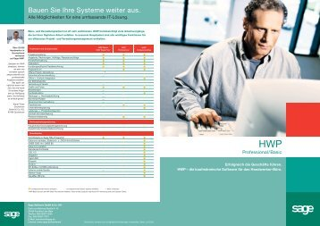 SAGE HWP Basic-Professional - Datec Hard- und Software GmbH