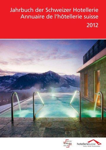 Jahrbuch der Schweizer Hotellerie Annuaire de l ... - myclimate