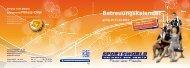 Betreuungskalender - Sportsworld Wellness and Health GmbH & Co ...