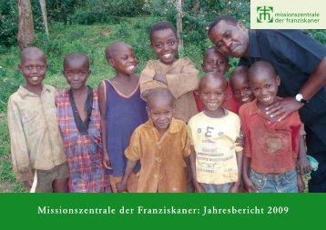 Missionszentrale der Franziskaner: Jahresbericht 2009