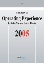 Important to Availability - Kernkraftwerk Gösgen