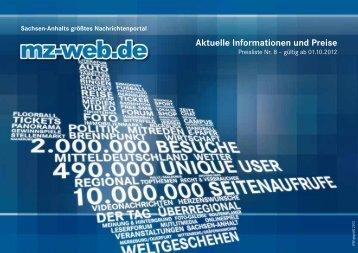 Preisliste - Mitteldeutsche Zeitung