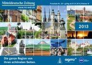 Preisliste 2013 - Mitteldeutsche Zeitung