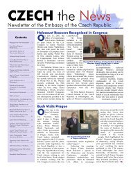 News CZECH the News - Ministry of Foreign Affairs of the Czech ...