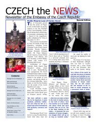 Czech the News/Special Edition - Ministry of Foreign Affairs of the ...