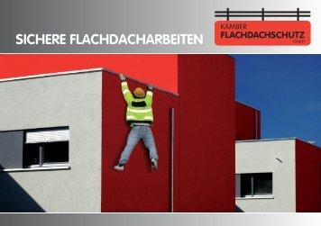 DIE LÖSUNG: KAMBER FLACHDACHSCHUTZ - Kamber Gerüste