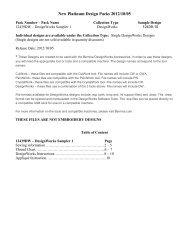 DesignWorks Sampler 1 - Naehpark.com